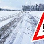 Uwaga na śliskie jezdnie i chodniki!