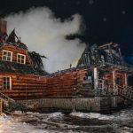 W nocy spłonęła drewniana restauracja. Przyjaciele poszkodowanej rodziny apelują o pomoc