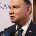 Prezydent Andrzej Duda: Chcemy być suwerenni, dlatego możliwość przepływania przez Mierzeję Wiślaną jest nam potrzebna