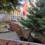 Mieszkańcy kamienicy przy ul. Mazurskiej w Olsztynie wrócili do domu. Budynkowi groziła katastrofa budowlana