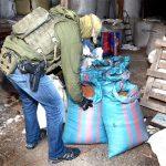 Funkcjonariusze Straży Granicznej zabezpieczyli ponad tonę krajanki tytoniowej