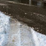 Wypadek na DK 63 między Giżyckiem a Orzyszem. Trudne warunki na drogach w regionie
