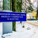 Rośnie liczba zachorowań na grypę. Szpital pulmonologiczny w Olsztynie wprowadził zakaz odwiedzin