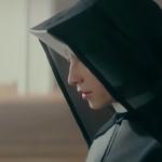 """Kamila Kamińska jako św. Faustyna na plakacie filmu """"Miłość i Miłosierdzie"""""""