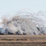 Strzelanie amunicją bojową na poligonie w Orzyszu