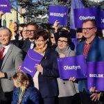Robert Biedroń zaprezentował kandydatów Wiosny w wyborach do Parlamentu Europejskiego