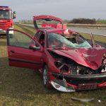 28-latek zginął pod kołami peugeota. Przebiegał przez drogę ekspresową w okolicach Pasłęka