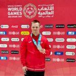 Marcin Liszcz z Elbląga srebrnym medalistą Igrzysk Olimpiad Specjalnych
