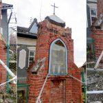 Trwają poszukiwania właściciela zabytkowej kapliczki w Nowym Kawkowie. Przydrożna kapliczka jest w opłakanym stanie