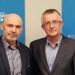 Radni Jarosław Babalski i Mirosław Gornowicz o płaceniu pensji strajkującym nauczycielom i planach sprzedaży olsztyńskiego Stomilu