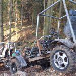 Piętnaście pojazdów niszczyło lasy Wysoczyzny Elbląskiej. Leśnicy ostrzegają: grozi za to wysoki mandat