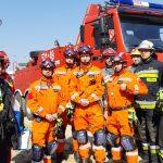 Sumiennie pracują na zaufanie. Strażacy z Warmii i Mazur szkolili się z poszukiwania osób w zawalonych budynkach
