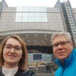 Małgorzata Sadowska-Bartoszewicz i Krzysztof Kaszubski nadawali z siedziby Parlamentu Europejskiego w Brukseli