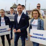 Kandydat do Europarlamentu odwiedził Ostródę. Tomasz Frankowski: Chcemy kontynuować program Polska Wschodnia