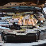 Nielegalne papierosy w bagażniku, podłodze i komorze silnika