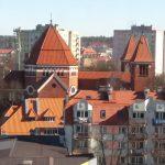 Płonie dach kościoła św. Józefa w Olsztynie. Strażacy uspokajają – to tylko ćwiczenia