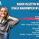 Radio Olsztyn wśród najchętniej słuchanych stacji w Olsztynie!
