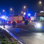 Tragiczny wypadek na obwodnicy Ostródy. Ciężarówka śmiertelnie potrąciła pieszego