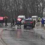 Utrudnienia w ruchu między Ełkiem a Oleckiem. Mieszkańcy protestują przeciwko niekompletnej przebudowie krajowej 65