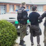 Zieloną granicą trafili do Polski. Funkcjonariusze Straży Granicznej zatrzymali czterech Czeczenów