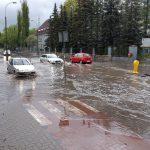 Ulewne deszcze i burze na Warmii i Mazurach. IMGW wydał ostrzeżenie pierwszego stopnia