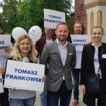 Mały ruch graniczny i ochrona zdrowia. O tym z mieszkańcami Olsztyna i Braniewa rozmawiał Tomasz Frankowski