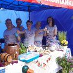 Aktywne, zaradne i kreatywne społeczniczki z Kół Gospodyń Wiejskich prezentowały swoje wyroby na olsztyńskim Starym Mieście