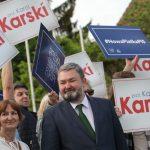 W Olsztynie odbył się wiec poparcia lidera PiS do Parlamentu Europejskiego