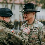 Zmiana dowódcy i żołnierzy Batalionowej Grupy Bojowej NATO w Bemowie Piskim