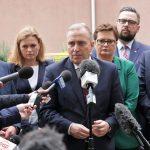 """""""Jeśli zmienimy stan służby zdrowia, to będzie wspólny sukces"""". W Olsztynie liderzy Koalicji Europejskiej zapowiedzieli program ochrony zdrowia"""