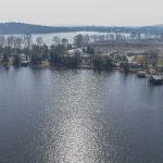 Tragiczny finał poszukiwań wędkarza. W Jeziorze Kiersztanowskim utonął 64-latek