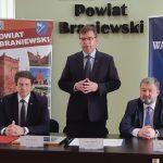 """Kolejne powiaty z dotacją na drogi samorządowe. """"Walczymy z wykluczeniem komunikacyjnym Warmii i Mazur"""""""