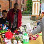 Na olsztyńskiej Starówce zaprezentowano twórczość osób niepełnosprawnych