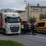 Śmiertelny wypadek w Nowym Mieście Lubawskim. Droga była zablokowana przez kilka godzin