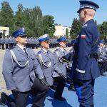Nowi oficerowie w Wyższej Szkole Policji w Szczytnie. Promocję odebrało ponad stu funkcjonariuszy