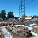"""Nowa siedziba elbląskiej Straży Granicznej w budowie. """"Będziemy pracować i przyjmować klientów w lepszych warunkach"""""""