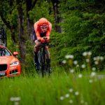 Michał Paluta kolarskim mistrzem Polski. Sportowe zmagania zakończyły się w Ostródzie