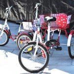 W Giżycku można wypożyczać rowery do rehabilitacji. Sprzęt przekazał PCK