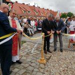 W 30 rocznicę powstania parafii Świętej Trójcy odsłonięto pamiątkowy kamień