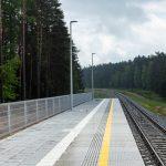 Podróżni wygodniej pokonają trasę kolejową Szczytno-Pisz. Powstały nowe perony, w planach jest budowa kolejnych przystanków