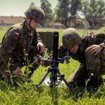 Żołnierze batalionu lekkiej piechoty z Morąga rozpoczęli szkolenie terytorialsów