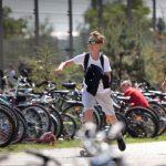 Do szkoły rowerem, na hulajnodze, wrotkach, rolkach i desce. W Elblągu podsumowano akcję Rowerowy Maj