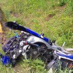 Czarny weekend na drogach Warmii i Mazur. Jedną ze śmiertelnych ofiar motocyklista jadący bez kasku