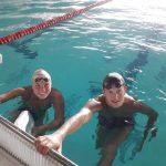 Justyna Burska i Krzysztof Pielowski  na mistrzostwach świata w Gwangju. Jak spisali się pływacy AZS-u UWM Olsztyn?