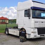 Podejrzana ciężarówka zatrzymana na przejściu granicznym w Grzechotkach