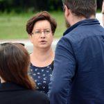 """Monika Falej: Chcę być posłanką """"w trasie"""" oraz wychodzić z inicjatywą"""