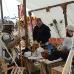 Rycerze spod Grunwaldu zwijają swoje obozy i wracają do codziennych zajęć