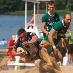 Wysoki poziom sportowy i doskonała zabawa. Rugbyści znów zagrali na piasku