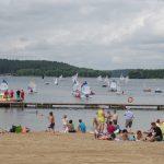 Olsztyńskie plaże już bez ratowników. Koniec sezonu kąpielowego