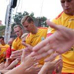 Gorące emocje w olsztyńskim amfiteatrze. Zawodnicy Stomilu Olsztyn zaprezentowali się swoim kibicom. Zobacz zdjęcia